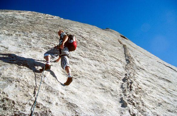 grimpeur équilibré